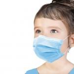 Máscaras Cirúrgica Criança 50un iServices Aplicação Rosto