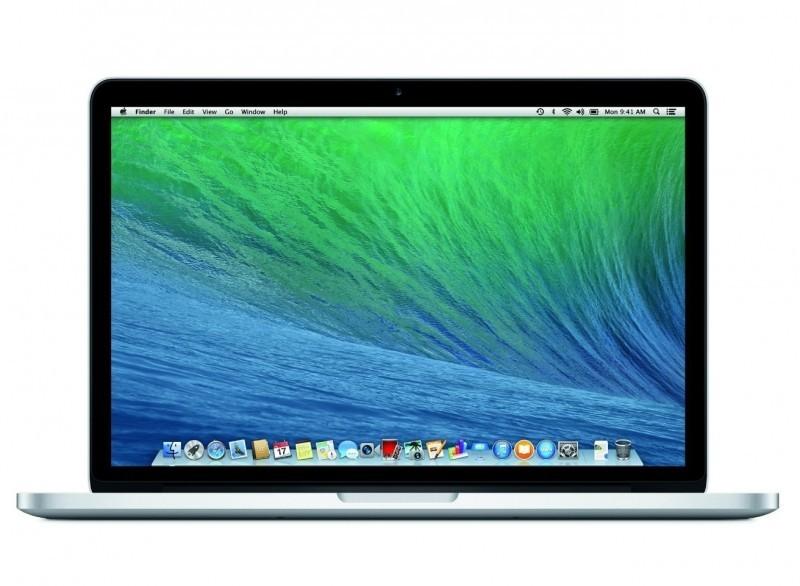 MacBook Pro Retina 13 Mid 2014 RAM 8GB / Drive 128GB