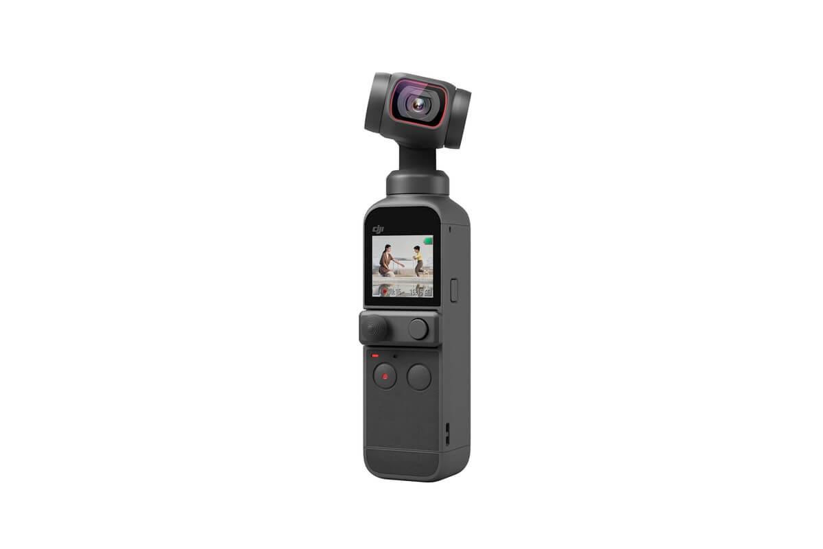 Osmo Pocket 2 DJI Frente Câmera de lado
