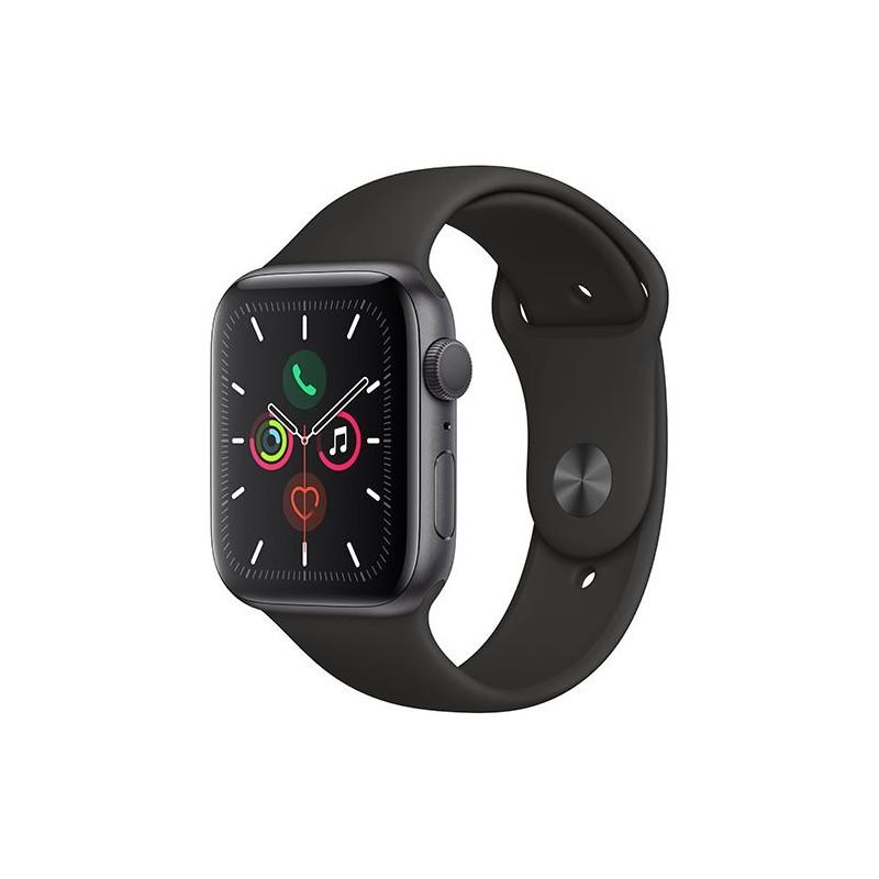 Apple Watch Series 5 GPS 40mm Recondicionado Preto Lado