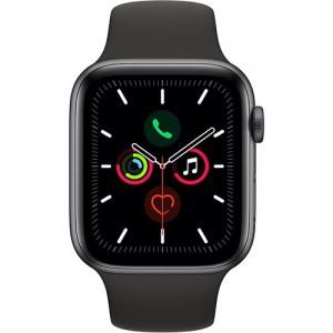 Apple Watch Series 5 GPS 45mm Recondicionado Preto Frente