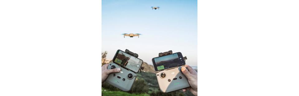Drones DJI Líder Mundial em câmaras aéreas - Loja Online iServices